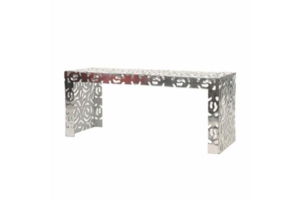 Ottoman, Zen Metal Bench