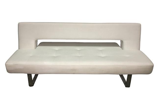 White Euroline Sofa