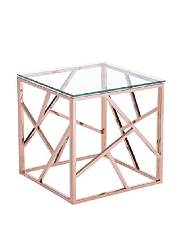 Rose Gold K2 Side Table