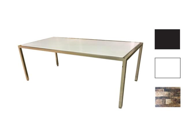 Industrial Metal/plexi Coffee Table