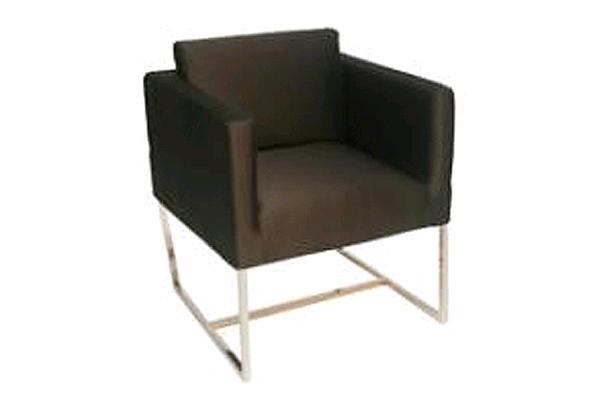 Black Square Chair