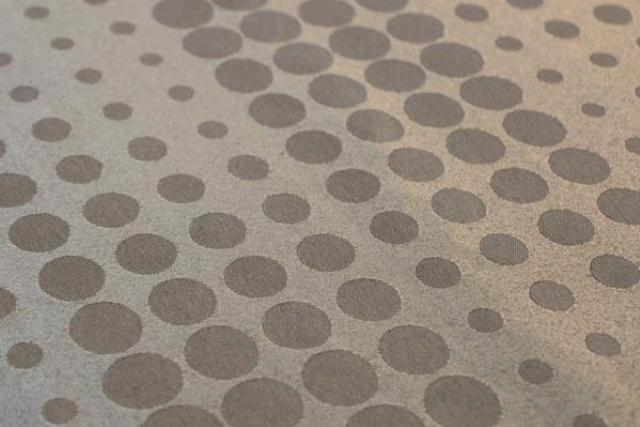 Taupe Bubble Placemat